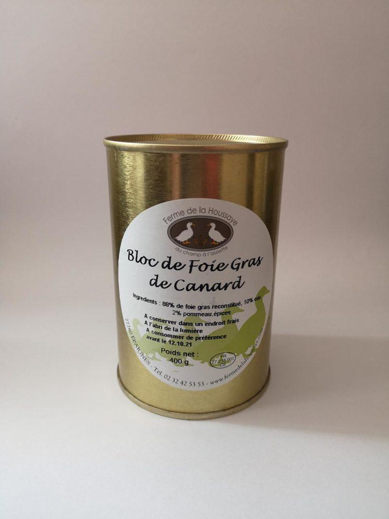 foie gras canard ferme de la houssaye eure normandie