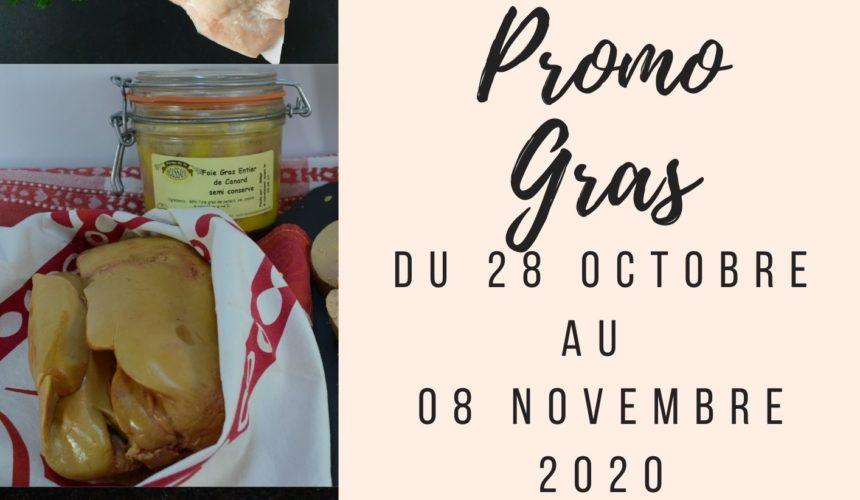 Promotion gras